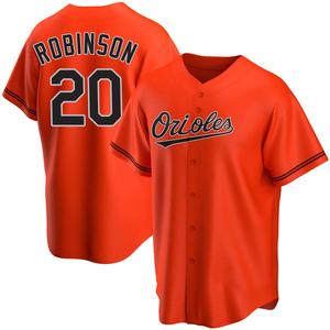 Men's Baltimore Orioles Frank Robinson Replica Orange Alternate Jersey