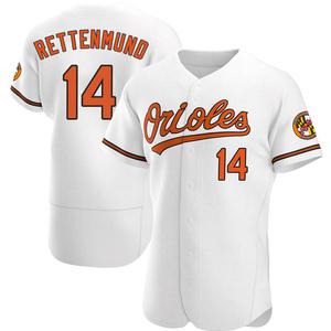 Men's Baltimore Orioles Merv Rettenmund Authentic White Home Jersey
