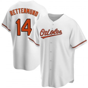 Men's Baltimore Orioles Merv Rettenmund Replica White Home Jersey