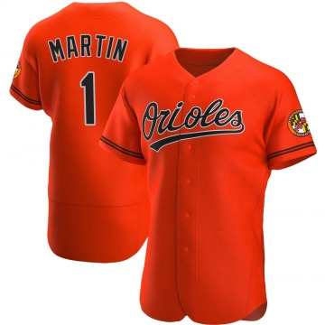 Men's Baltimore Orioles Richie Martin Authentic Orange Alternate Jersey