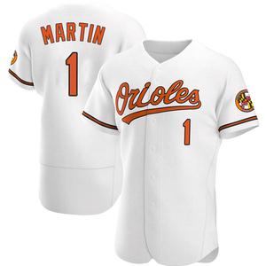 Men's Baltimore Orioles Richie Martin Authentic White Home Jersey