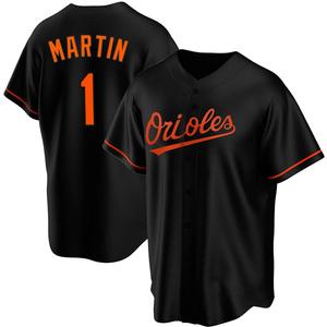 Men's Baltimore Orioles Richie Martin Replica Black Alternate Jersey