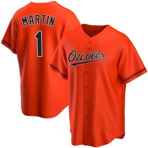 Men's Baltimore Orioles Richie Martin Replica Orange Alternate Jersey