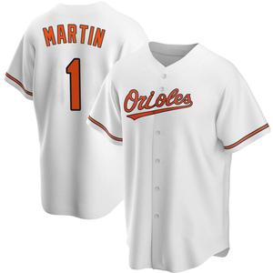 Men's Baltimore Orioles Richie Martin Replica White Home Jersey