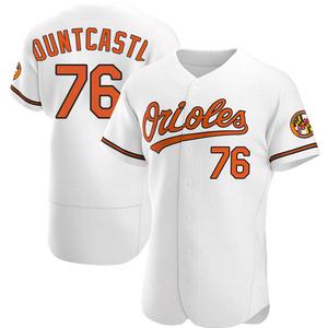Men's Baltimore Orioles Ryan Mountcastle Authentic White Home Jersey