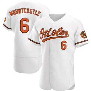 Men's Baltimore Orioles Ryan Mountcastle Authentic White Home Jersey