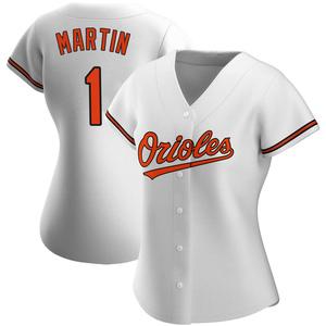 Women's Baltimore Orioles Richie Martin Authentic White Home Jersey