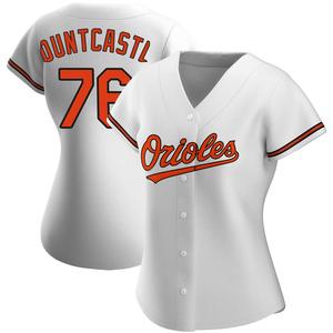 Women's Baltimore Orioles Ryan Mountcastle Authentic White Home Jersey