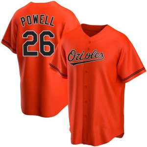 Youth Baltimore Orioles Boog Powell Replica Orange Alternate Jersey