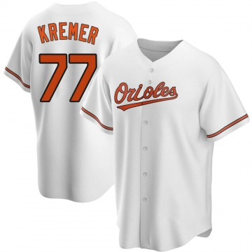 Youth Baltimore Orioles Dean Kremer Replica White Home Jersey