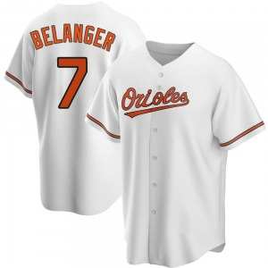 Youth Baltimore Orioles Mark Belanger Replica White Home Jersey