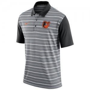Men's Nike Baltimore Orioles Brown Practice T-Shirt -